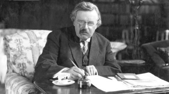Rare Video Footage of G.K. Chesterton