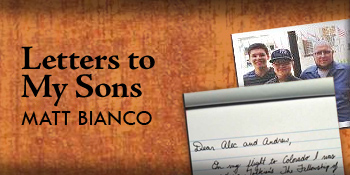 "My Interview with Matt Bianco: ""Letters to My Sons"""