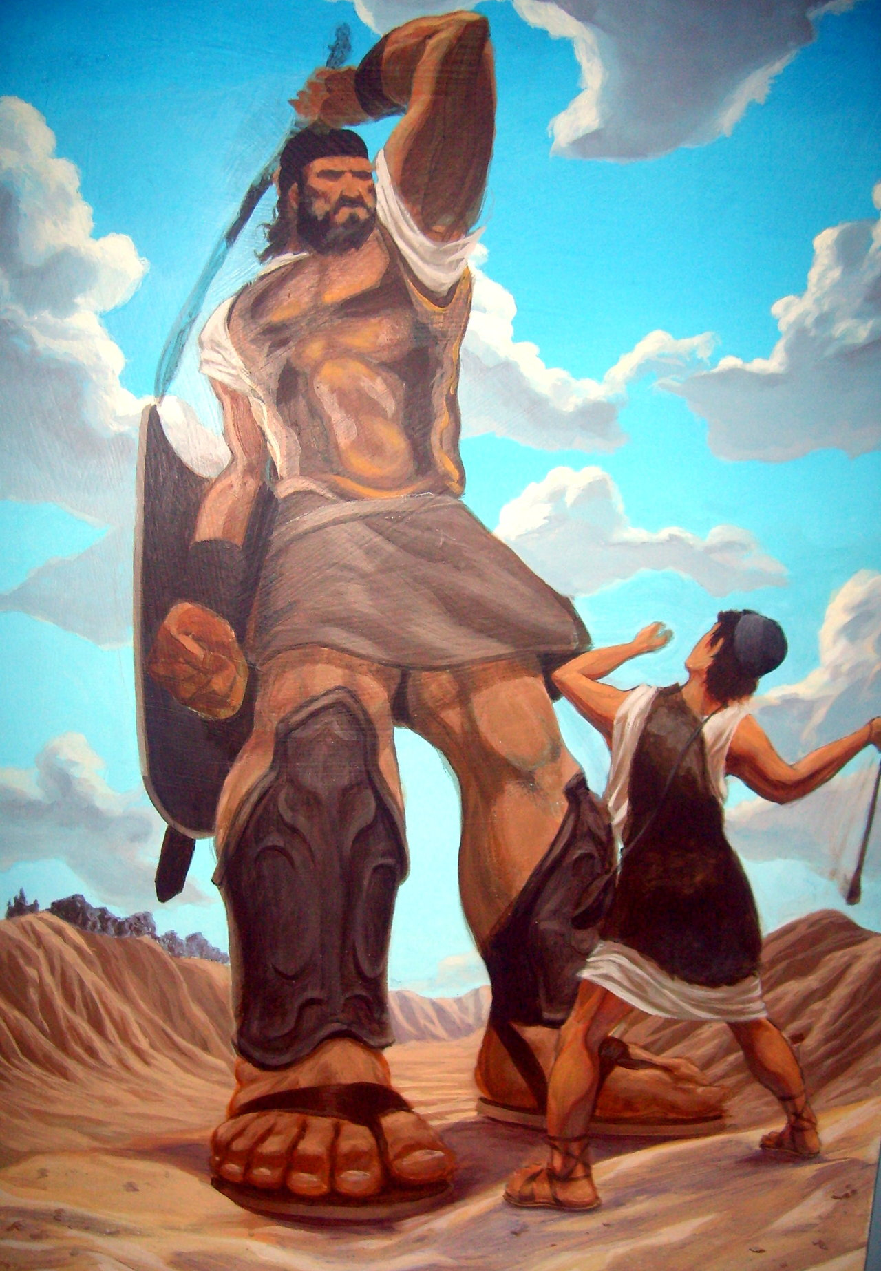 a comparison of the two leaders arthur becomes king and david and goliath The fierce warrior goliath is sent to track down a foretold king of the israelites a young shepherd david is thrust into an epic chase and adventure fighting for his own life, the lives of his loved ones and eventually the lives of his people.