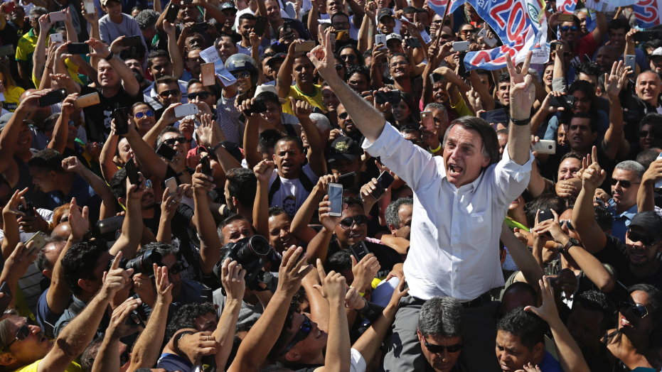 My quick thoughts on Jair Bolsonaro's candidacy for president of Brazil